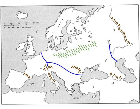 physical features  europe map quiz study game
