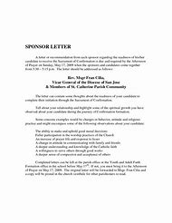 Best 25 ideas about catholic confirmation letters find what you catholic confirmation sponsor letter example thecheapjerseys Gallery