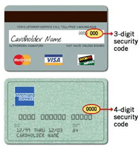 Credit Card Security Code Generator Template by Cvv Number Exles
