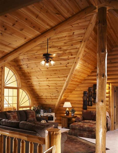Log Cabin Loft by Photos Of A Modern Log Cabin Golden Eagle Log Homes
