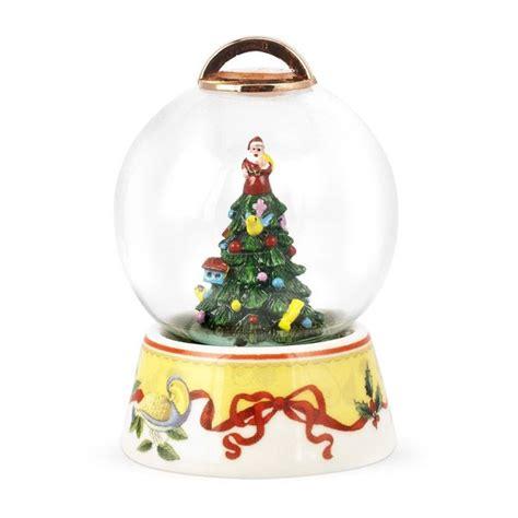 2012 spode christmas tree annual snow globe ornament