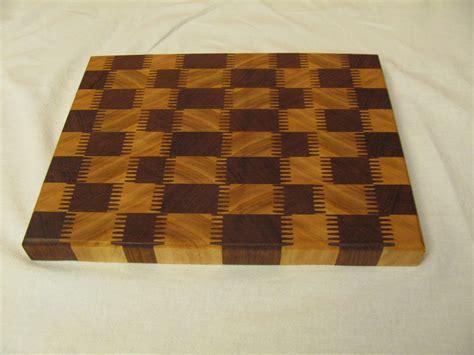 cutting board designs fancy end grain cutting board plans