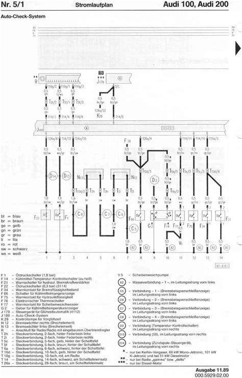 audi  factory wiring diagrams