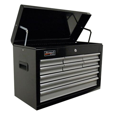 Husky 52 In 10 Drawer Clear View Mobile Workbench With by Husky 52 In 10 Drawer Clear View Mobile Workbench With