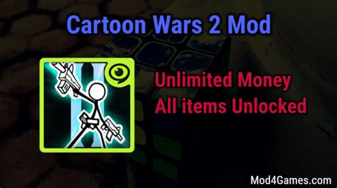 mod game unlimited money cartoon wars 2 unlimited money game mod apk free archives