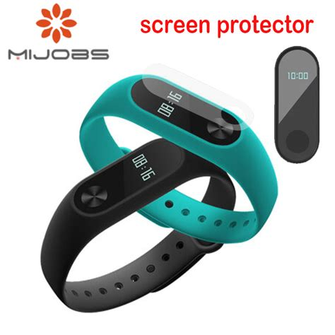 2pcs set for xiaomi mi band 2 screen protector ultrathin