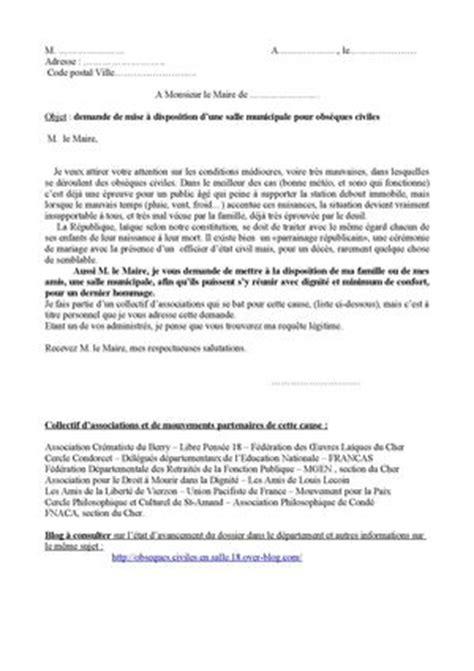Demande De Concession ã Raire Lettre Type Lettre Type Demande De Retraite Fonction Publique