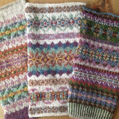 knitting fair isle some beautiful fair isles design by wallin