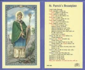 st s breastplate holy card