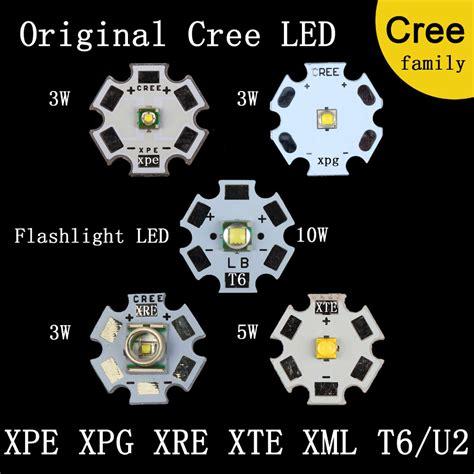 Cree Xml T6 U2 By Toekangbaterai original cree family mxl xm l t6 xm l2 xp e r3 xr e q5