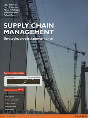 supply chain management krajewski lee; ritzman larry