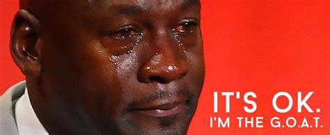 Jordan Crying Meme - the crying michael jordan meme is the goat and here s why