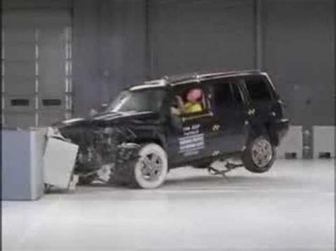 Jeep Patriot Crash Test Crash Test 2007 2011 Jeep Patriot Frontal Impact Iihs