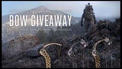 Bow Giveaway 2017 - mathews bow giveaway