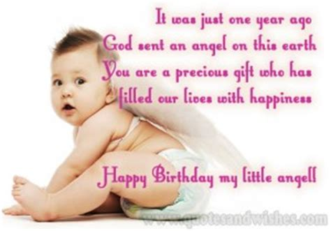 One Year Birthday Quotes 1st Year On Birthday Cards Quotes Quotesgram