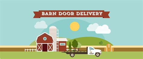 barn door delivery by hpcs illustrated image high