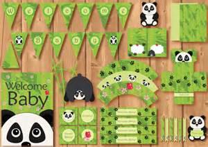 on sale babyshower panda package instant