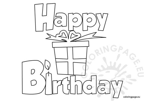 coloring pages happy birthday sister happy birthday printable coloring page