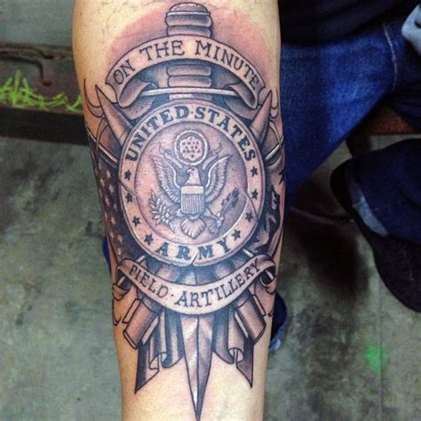 united states tattoo top army field artillery logo images for tattoos