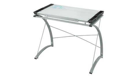 Modern Xpressions Glass Top Drafting Table Zuri Furniture Drafting Table Glass Top