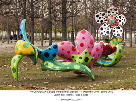 flowers that bloom at what s up trouvaillesdujour yayoi kusama quot flowers that