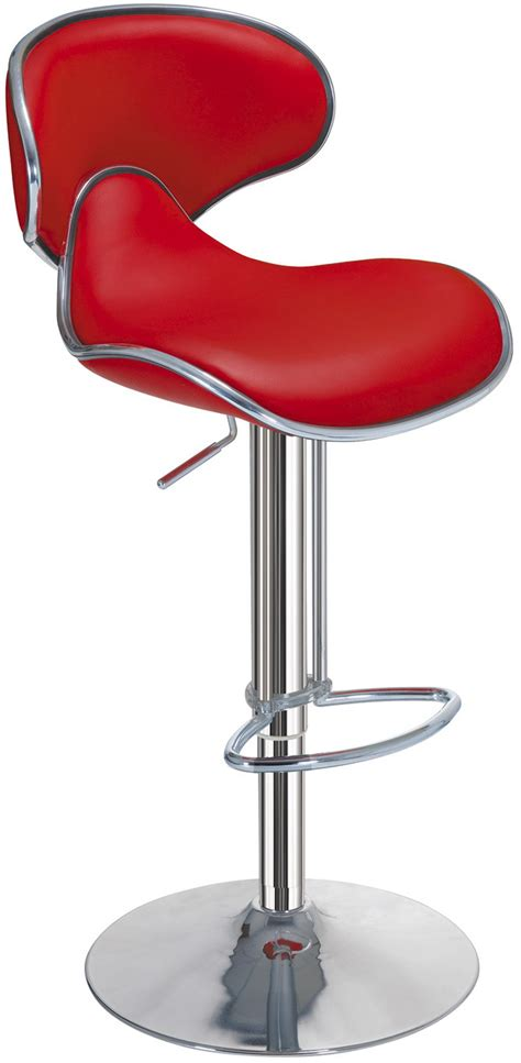 Bar Chairs Design Ideas Interior Impressive Leather Cushion Pad In Chrome Stand Bar Stool For Home Interior Design