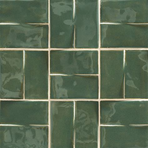 How To Make Ceramic Tile Floors Shine by Texturing Material Imitate A Glossy Ceramic Tile