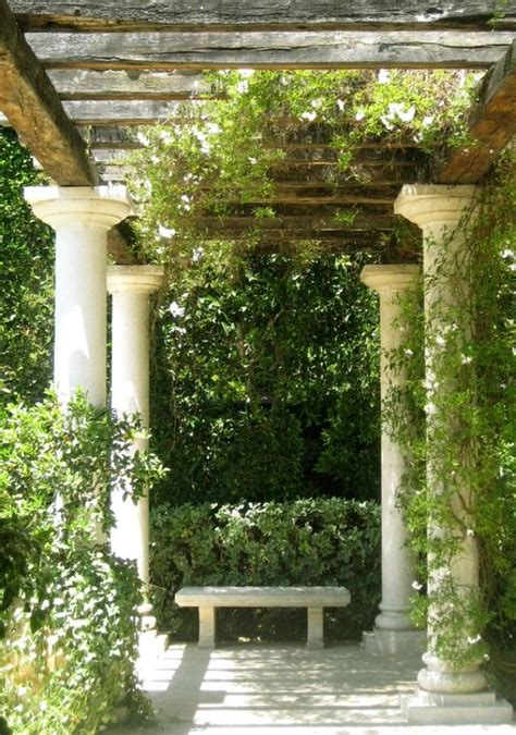 tuscan pergola tuscan mediterean trellis arbor tuscan decor pinterest