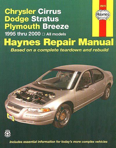 car repair manual download 2000 dodge stratus parental controls chrysler cirrus dodge stratus plymouth breeze repair html autos weblog