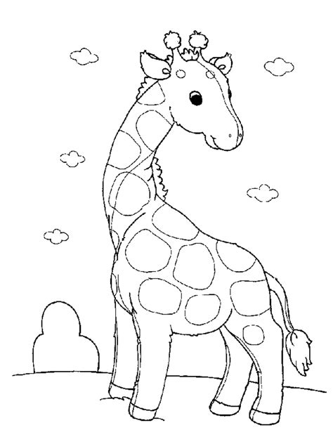 Printable Coloring Pages Of Baby Animals | baby animal coloring pages realistic coloring pages