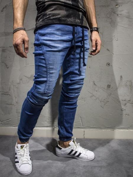 Jogger Size Standarall Size Fit To L 2y slim fit easy denim jogger blue joggers jean joggers and easy
