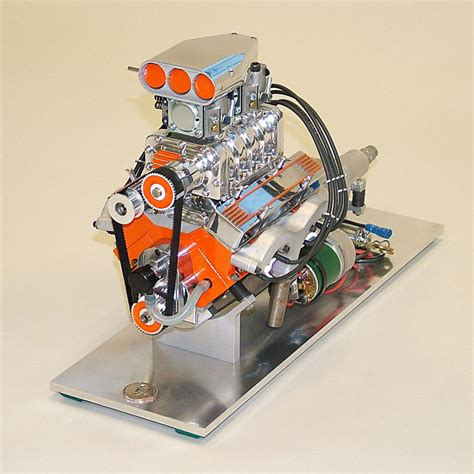 working mini v8 engine kit model engineers paul knapp