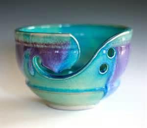 Handmade Clay - yarn bowl handmade stoneware pottery handmade ceramic
