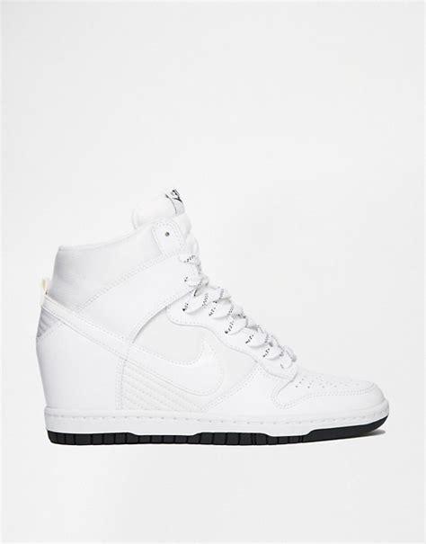 Nike Wedges Sky Dunk Colour Kode Ss6186 nike nike dunk sky hi essential white wedge sneakers