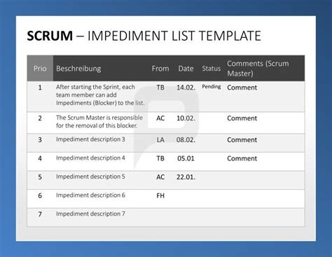 scrum template professional scrum powerpoint templates the scrum toolbox