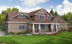 craftsman home plan one story craftsman house plans