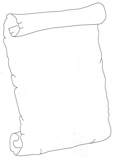 caratulas en pergamino para llenar pinto dibujos pergamino para colorear