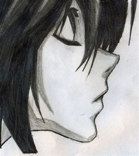 Death Note L by Elixcon on DeviantArt L Death Note Drawing