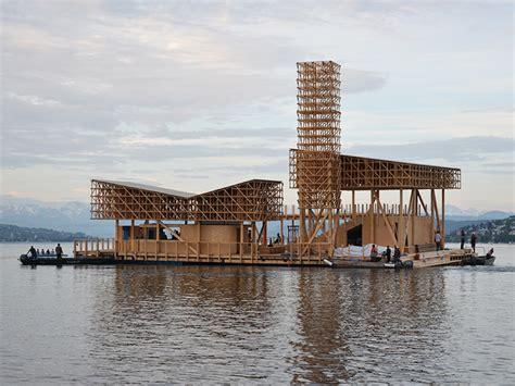 pavillon of reflections der manifesta pavillon liegt vor anker eth z 252 rich