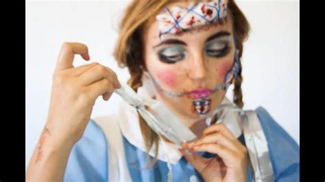 rag doll makeup mu 241 eca de trapo rag doll makeup tutorial