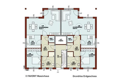 5 familienhaus grundriss favorit massivhaus