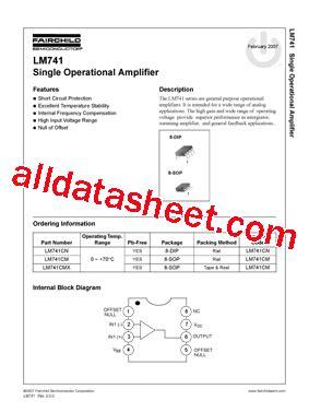c930 transistor datasheet pdf lm741 datenblatt pdf fairchild semiconductor