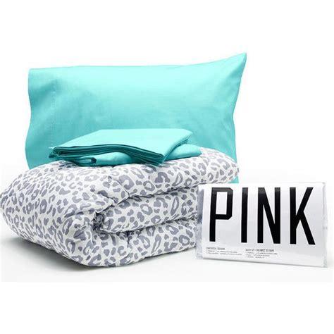 victoria secret comforter sets victoria s secret pink bed in a bag 455 dkk liked on