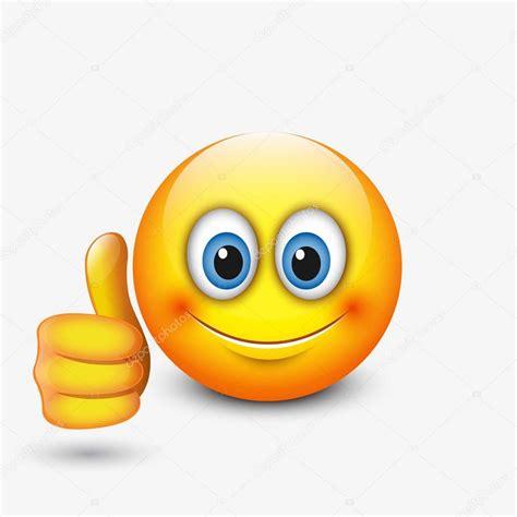 l emoji smiley pouce