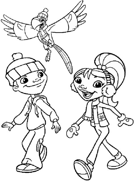 Maya And Miguel Pages Coloring Pages And Miguel Coloring Pages