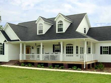 Rectangular House Plans Wrap Around Porch Country Home House Plans With Porches House Plans For Ranch Homes Small One Story House Plans