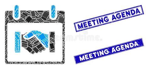 meeting agenda stock illustration illustration  funny