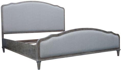 linen upholstered bed interlude white linen king upholstered bed from emerald