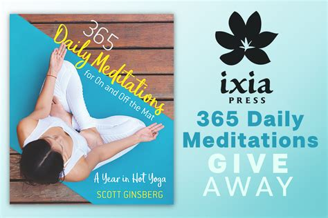 November Giveaway - november giveaway 365 daily meditations book yoga basics
