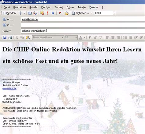 xmas stationary for outlook freeware en download